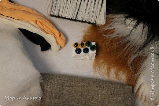 Мастер-класс Поделка изделие Шитьё МК кота в мешке Капрон Мех Мешковина фото 2