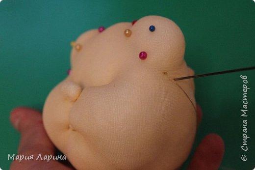 Мастер-класс Поделка изделие Шитьё МК кота в мешке Капрон Мех Мешковина фото 44