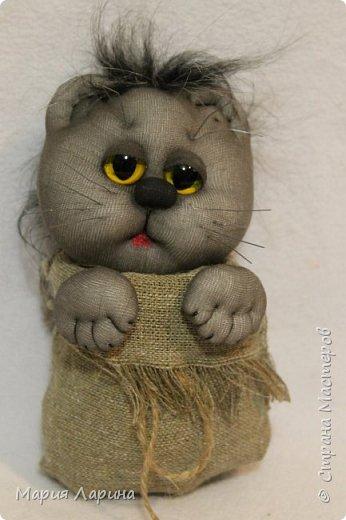 Мастер-класс Поделка изделие Шитьё МК кота в мешке Капрон Мех Мешковина фото 87