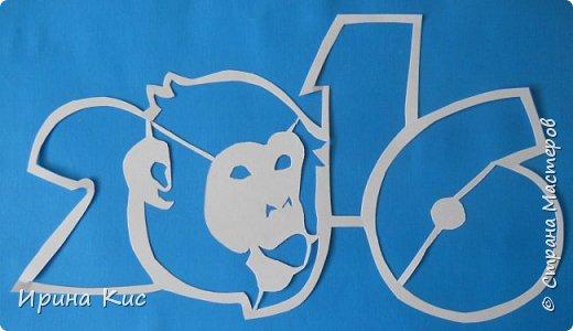 Картина панно рисунок Новый год Вырезание Вытынанки по восточному календарю Продолжение обезьяна коза мышь тигр  Бумага фото 1