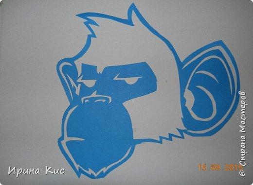 Картина панно рисунок Новый год Вырезание Вытынанки по восточному календарю Продолжение обезьяна петух собака змея коза  Бумага фото 1