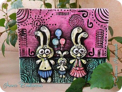 Мастер-класс Поделка изделие Лепка Мои Зубастики Краска Тесто соленое фото 2