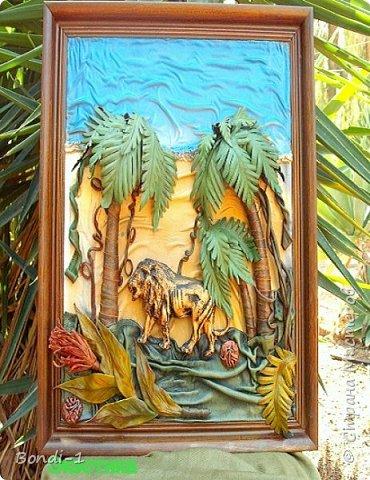 Картина панно рисунок Экзотика  Кожа фото 1