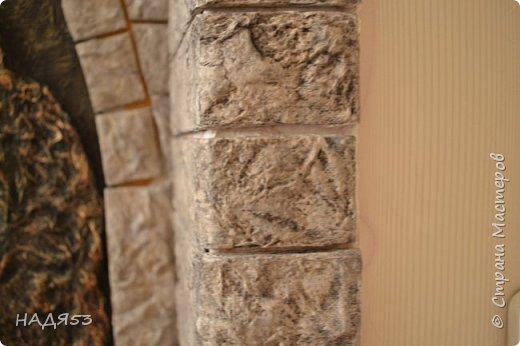 Декор предметов Мастер-класс Папье-маше Реставрация входной двери Бумага Гуашь Клей Коробки Краска Салфетки фото 43