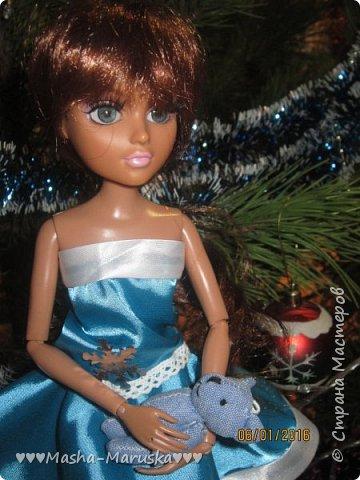 Кукольная жизнь Новый год Шитьё Зимняя фея  фото 14