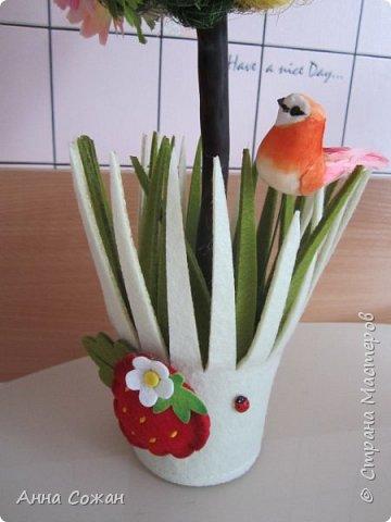 Всем доброго дня! Приглашаю Вас посмотреть мои подарки к 8 Марта! Деревья счастья, магнитики-топиарии и гнёздышки.  фото 5