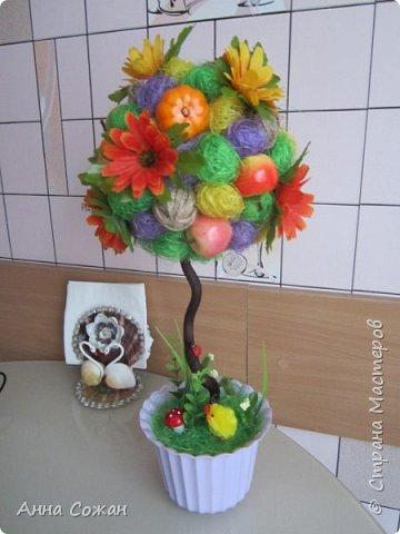 Всем доброго дня! Приглашаю Вас посмотреть мои подарки к 8 Марта! Деревья счастья, магнитики-топиарии и гнёздышки.  фото 3