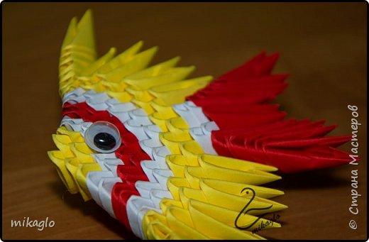 origami 3d fish  фото 2