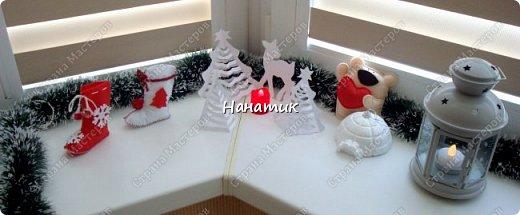 Добрый день! Еще немного фантазии на новогоднее окно, уже другое) фото 1