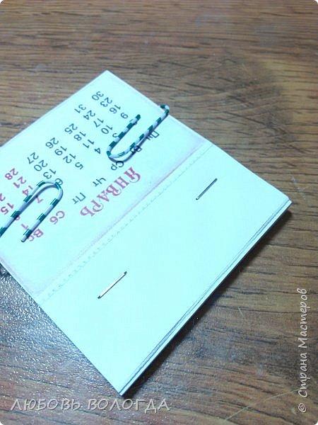 Сделала несколько календариков в качестве сувениров для близких и друзей. фото 19