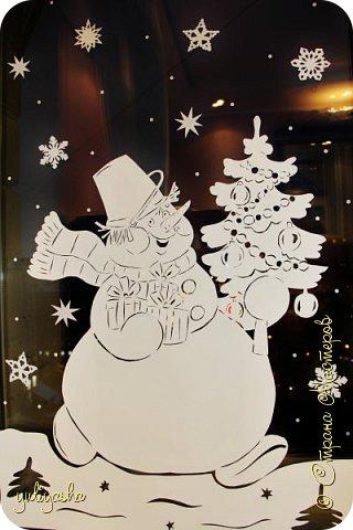 Новогодние Окошки в детской....Идею почерпнула здесь же, в СМ.....  Другие окошки здесь http://stranamasterov.ru/node/1064508  http://stranamasterov.ru/node/677622  Вдохновляйтесь, Новый год не за горами... фото 3