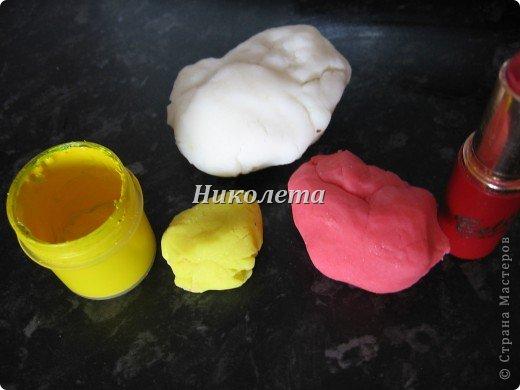 Мастер-класс Материалы и инструменты Поделка изделие Лепка самый простой рецепт холодного фарфора мастики БЕЗ КЛЕЯ  Фарфор холодный фото 7