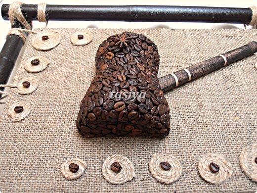 Декор предметов Моделирование ДУЭТ 2 панно на стену Кофе фото 4