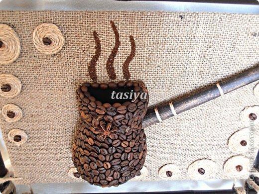 Декор предметов Моделирование ДУЭТ 2 панно на стену Кофе фото 5