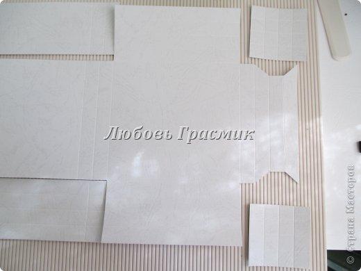 Мастер-класс Упаковка День рождения Бумагопластика Квиллинг Коробочка для подарка из листа А4 Бумага Картон фото 11