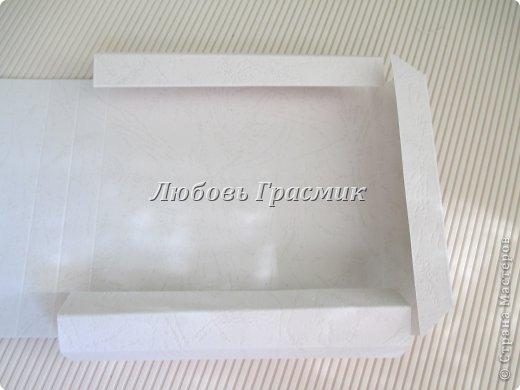 Мастер-класс Упаковка День рождения Бумагопластика Квиллинг Коробочка для подарка из листа А4 Бумага Картон фото 14