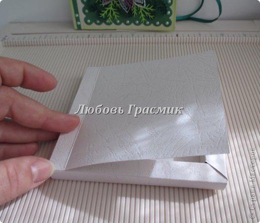 Мастер-класс Упаковка День рождения Бумагопластика Квиллинг Коробочка для подарка из листа А4 Бумага Картон фото 18