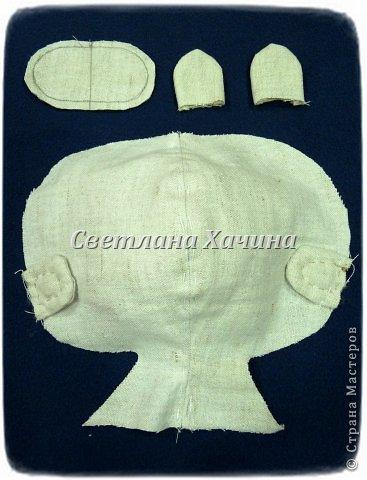 Куклы Мастер-класс Шитьё Рождение Куклы 1 часть Ткань фото 12