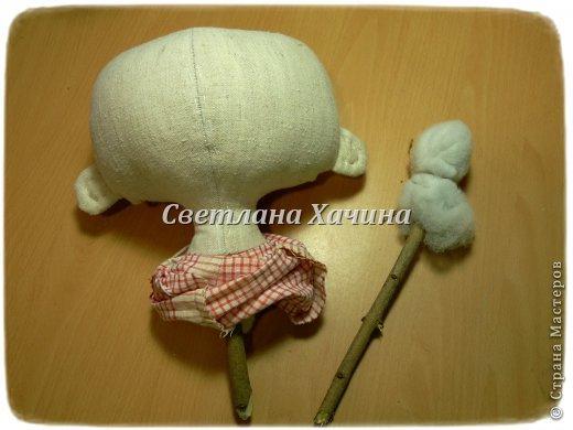 Куклы Мастер-класс Шитьё Рождение Куклы 1 часть Ткань фото 21