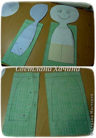 Куклы Мастер-класс Шитьё Рождение Куклы 1 часть Ткань фото 9